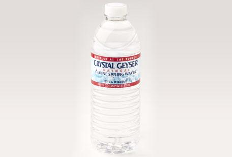 Crystal Geyser bottled water