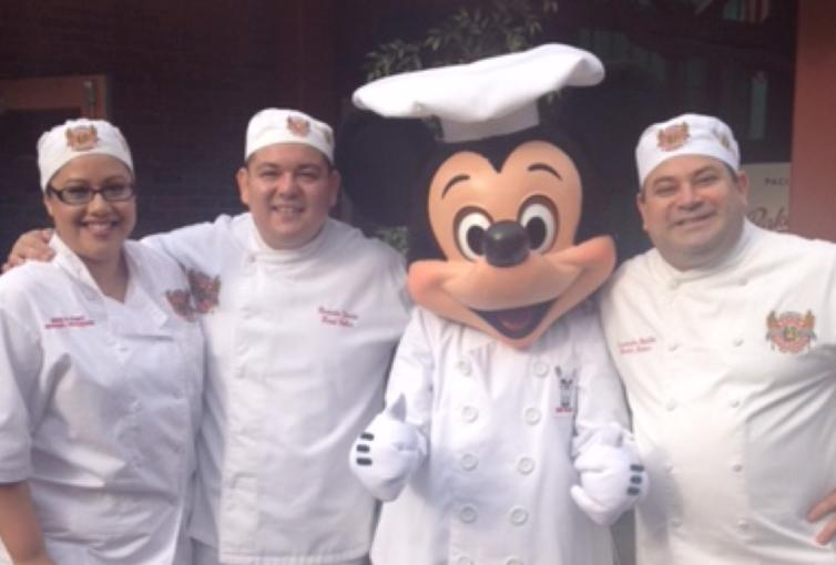 Boudin Bakers at Disney with Chef Mickey