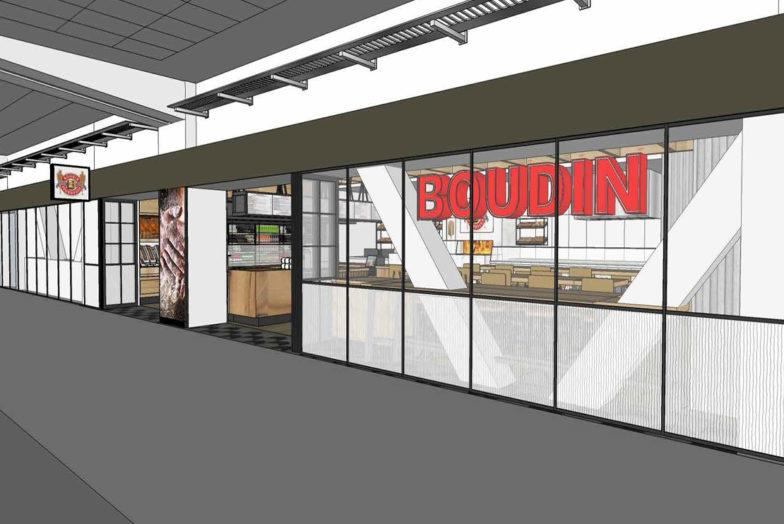 Design for the new Boudin at SFO International
